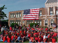 Flag Day at Dalton